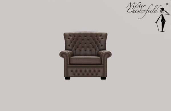 CHESTERFIELD-HOGE-RUG-FAUTEUIL