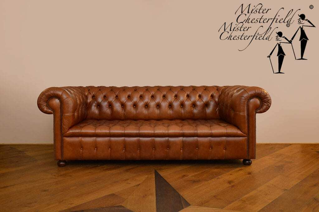 TWEEDEHANDS-CHESTERFIELD-COGNAC