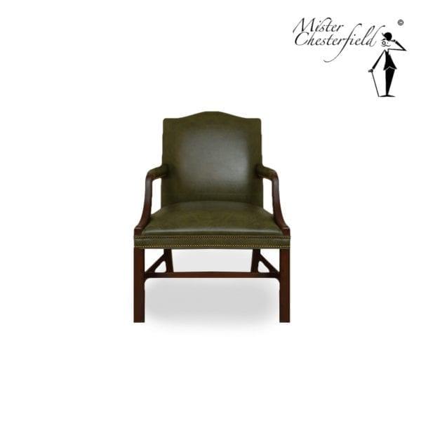 Chesterfield-groen-bureaustoel