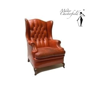 Chesterfield-oranje-wing-chair-stoel-2