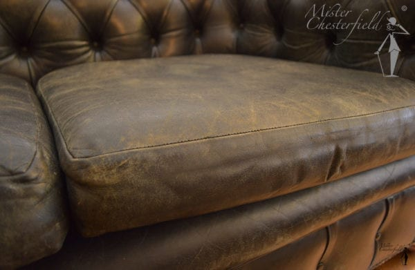 vintage chesterfield black
