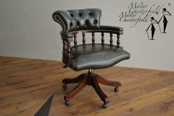 mister chesterfield captains chair