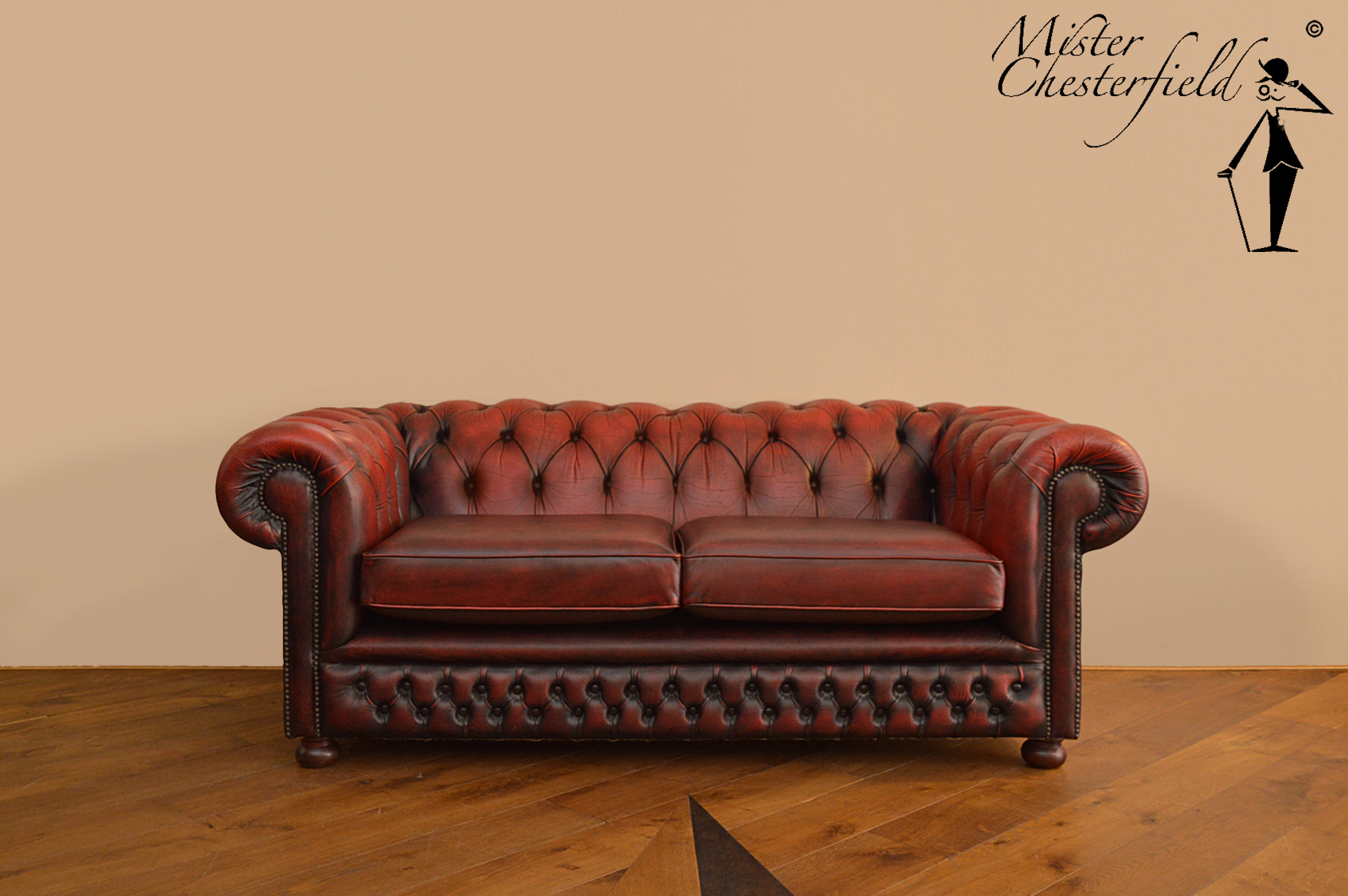 Nr 18 Chesterfield Sofa In Oxblood Directly Available Mister