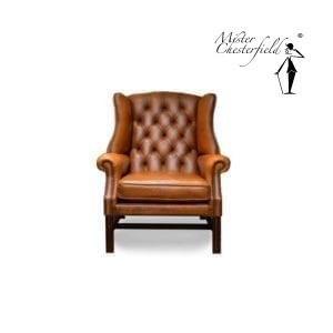 Chesterfield-georgian-chair-tan-antique