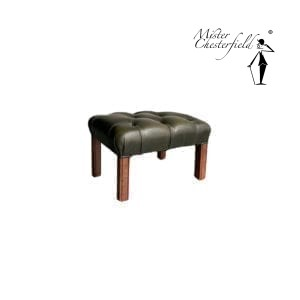 tweedehands-chesterfield-hocker-green-2