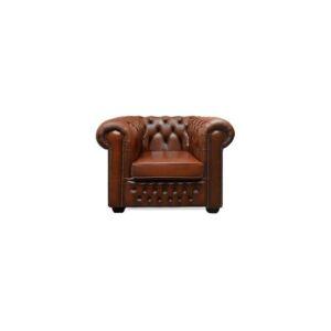 tweedehands-chesterfield-stoel-bruin-licht-google