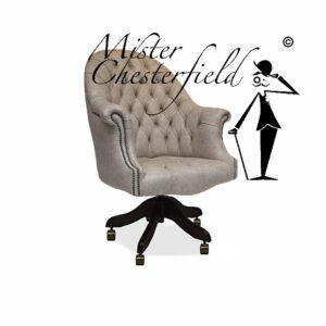 google-chesterfield-directors-chair-swivel-chair-ivory-bureaustoel