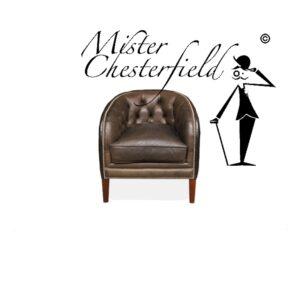google-tweedehands-chesterfield-vintage-zwart